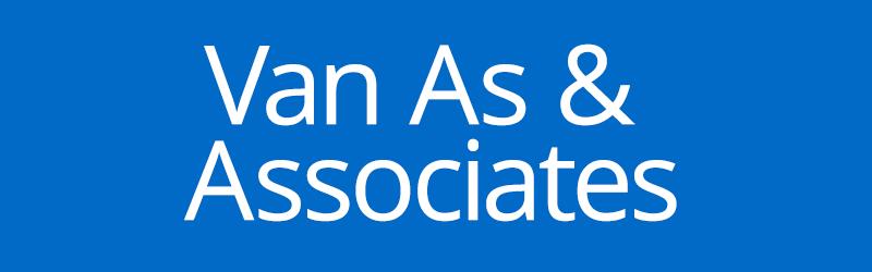 Van As Associates label
