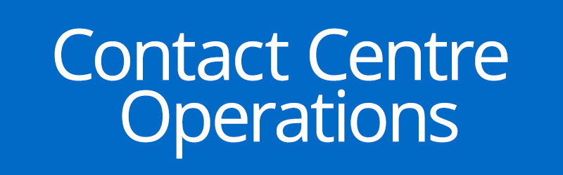 contact centre label