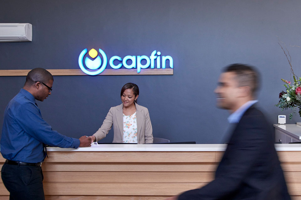 reception at capfin